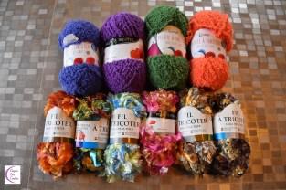 special yarns +°+ fils spéciaux