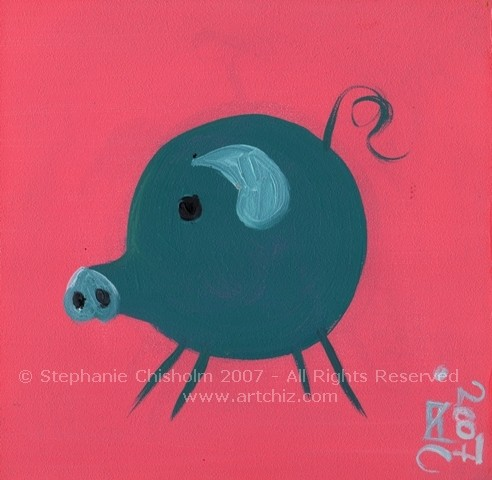 The Blue Little PiG
