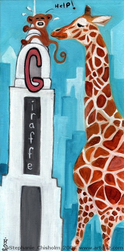 G for Giraffe