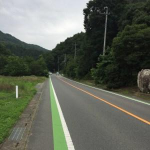 夏の秩父の緑あふれる風景