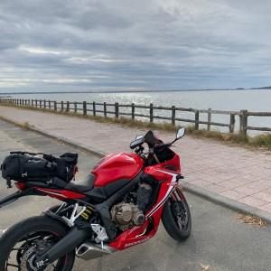 天王崎公園の前面はまさに海風景その2