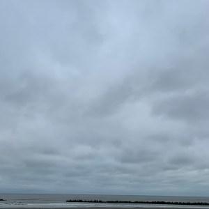 r30の海沿いパーキングでの九十九里ショット