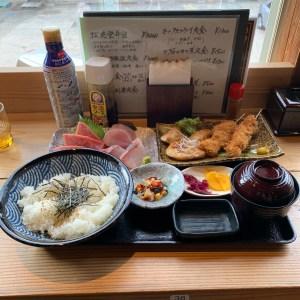 外房・勝浦漁港の勝喰さんのがっつり定食