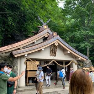戸隠神社奥社参拝コース⑪「奥社到着!」