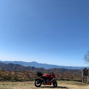 しらびそ高原での中央アルプスの絶景with CBR650R