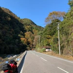 下栗の里に近いR152の快走ロード風景with CBR650R②