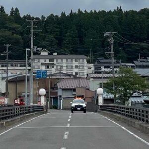 山形・蔵王のこけし橋にてwith CBR650R