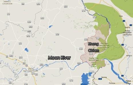 0_Map of Khong Chiam