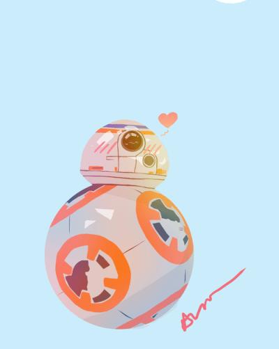 Star Wars BB-8'