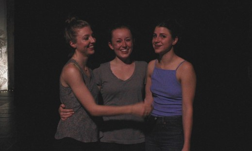 Chloë, Elle, and Courtney after The Drove - Fall 2016 Photo by Caitlin Hurley