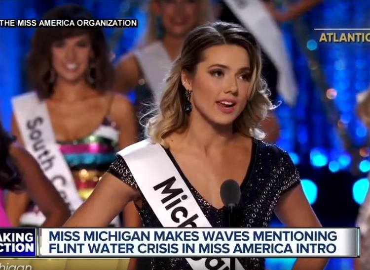 Miss Michigan Proves America Is Tired of Flint Crisis Excuses
