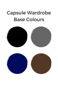 Capsule Wardrobe Base Colours