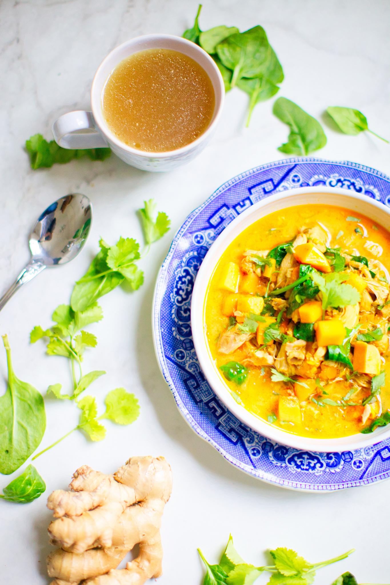 Gut Health Soup Bone Broth