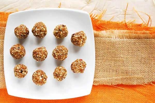 Orange Spice Energy Balls
