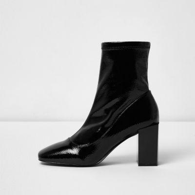 Sequin Top Boots