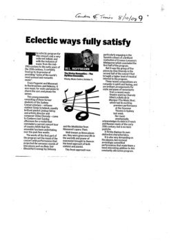 Canberra Times review (2008)