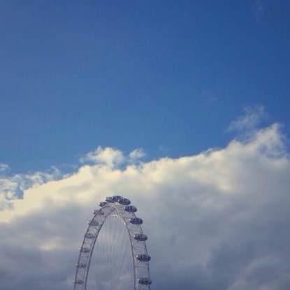 A slice of sky.