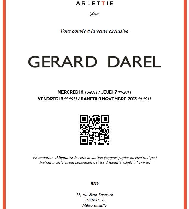 Vente privée Gerard Darel