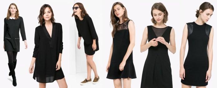 sélection robes noires mango