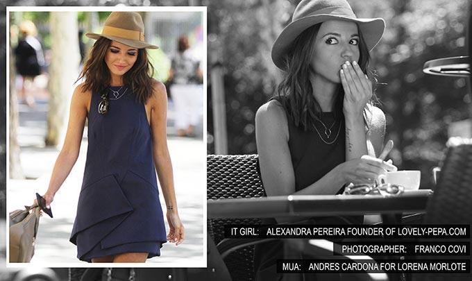robe styligion bleue alexandra pereira lovely pepa