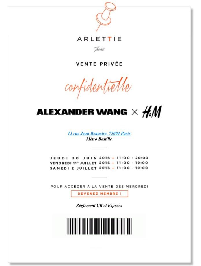 VP Alexander Wang h&m