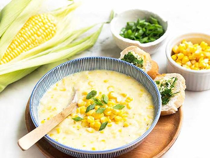 Soupe de maïs