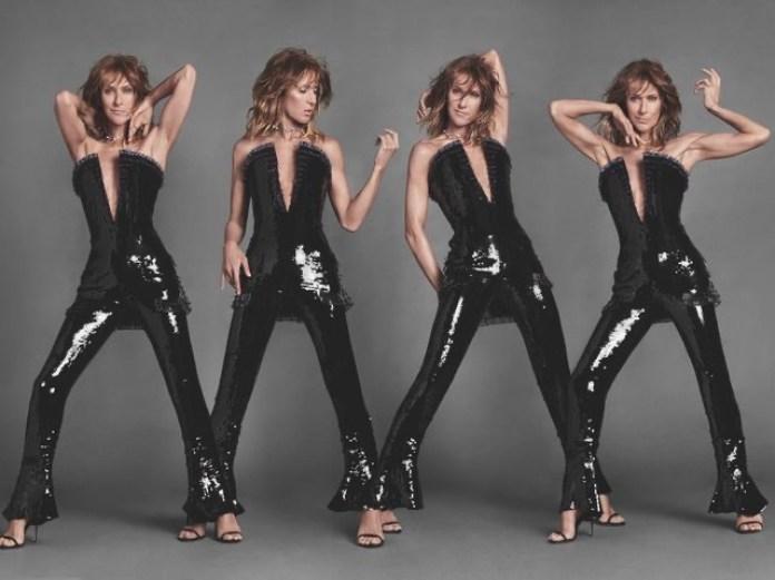 Celine Dion Elle magazine