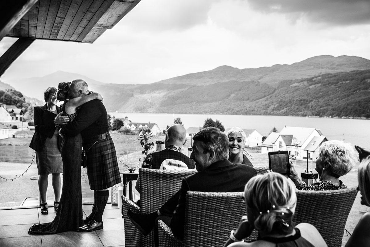 Carrick Castle wedding service, Glasgow wedding photographer. Cairndow wedding