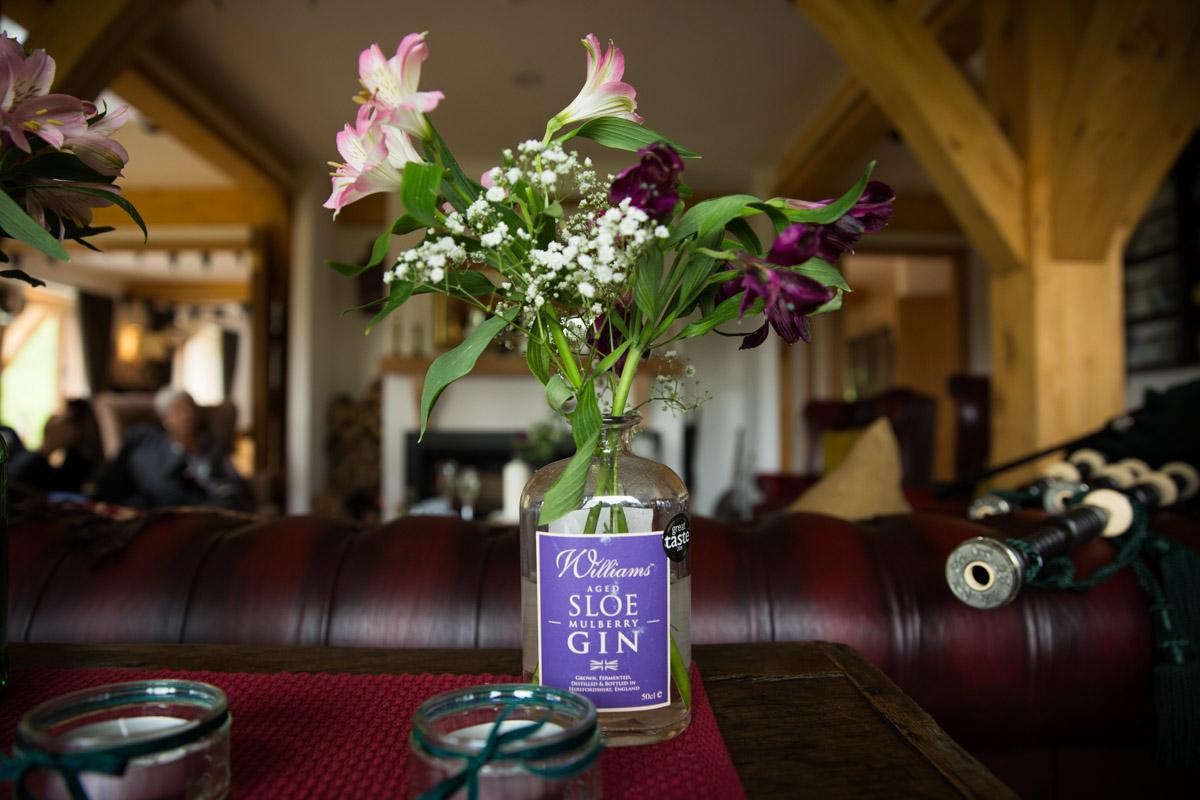 Carrick Castle Estate wedding. Scotland luxury wedding photographer. Lodge on Loch Goil wedding.