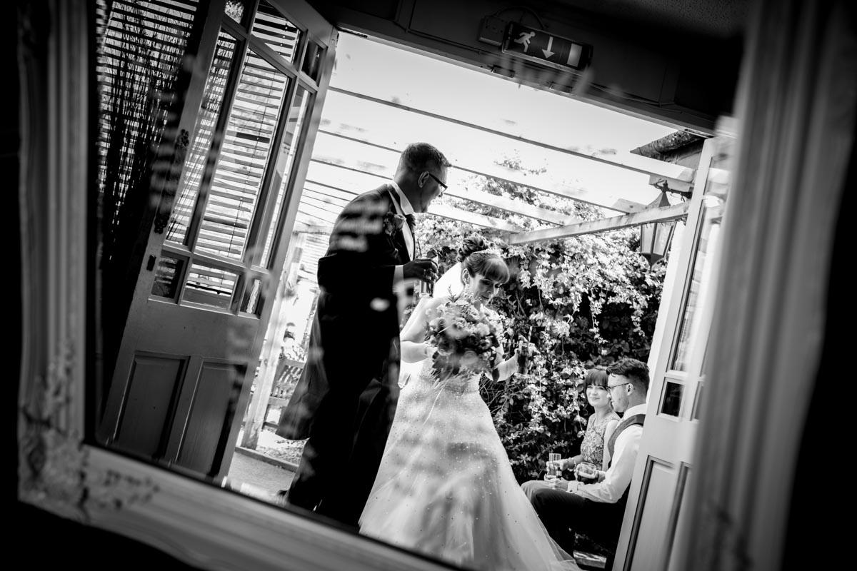 Mirrored seating plan. Glasgow wedding photographer