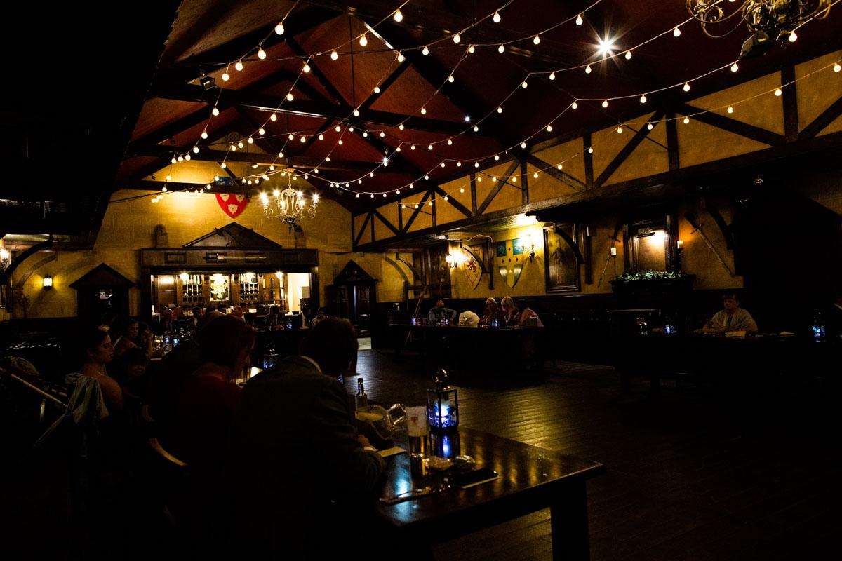 The Forth Inn Aberfoyle wedding reception