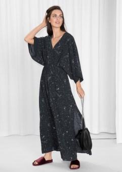 Starry Sky Print Dress