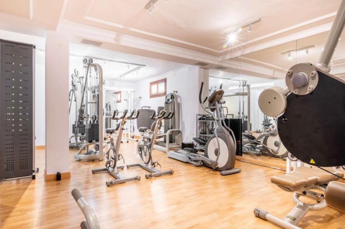 gym of sierra blanca villa
