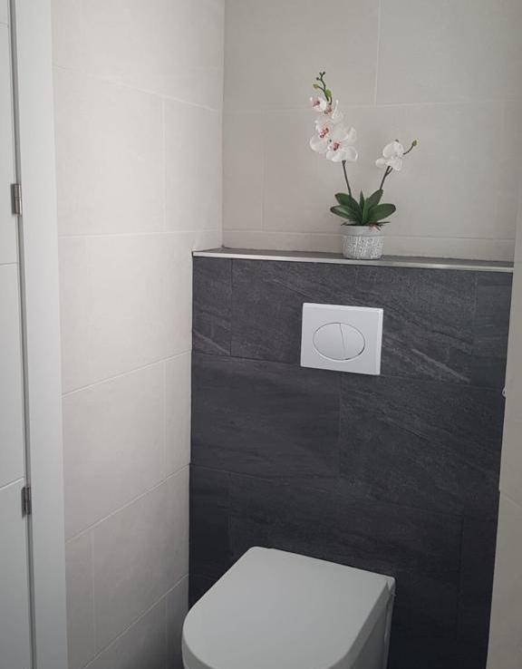 Bathroom of apartment in marbella center