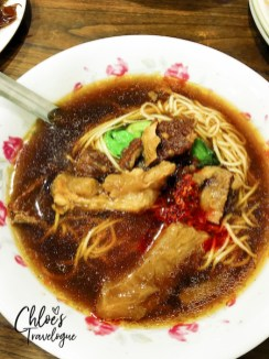 Best Kaohsiung Food - Wang Beef Noodle Soup | #Kaohsiung #Taiwan #foodguide #KaohsiungFood #KaohsiungRestaurants #beefnoodlesoup