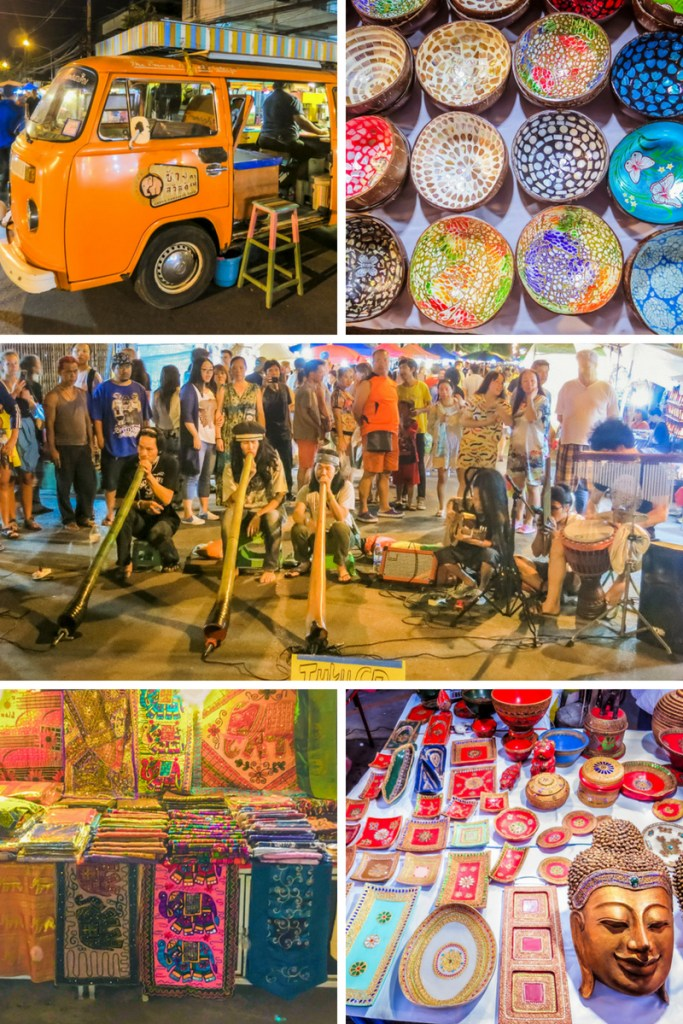 Things to Do in Chiang Mai - Hunt for Souvenirs at the Sunday Market | www.chloestravelogue.com #Thailand #ChiangMai #ThailandInsider #SundayMarket #StreetFood #ThaiFood #Souvenirs