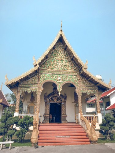 Things to Do in Chiang Mai - See All Four Must-See Temples in Chiang Mai   www.chloestravelogue.com #Thailand #ChiangMai #ThailandInsider #Temples #oldcity #WatChiangMan #Buddha #Jackfruit #elephantstatue