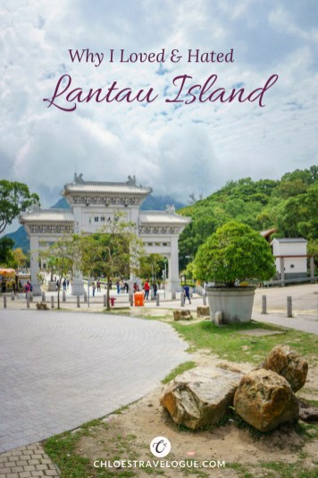 Why I loved and hated Lantau Island Hong Kong | All you need to know about Lantau: How to Ride a Cable Car, What to See & What to expect #LantauIsland #HongKong #DiscoverHongKong #BigBuddha #TianTanBuddha #PoLinMonastery #wisdompath #cablecar #daytrip #BuddhistTemple #Citygateoutlets