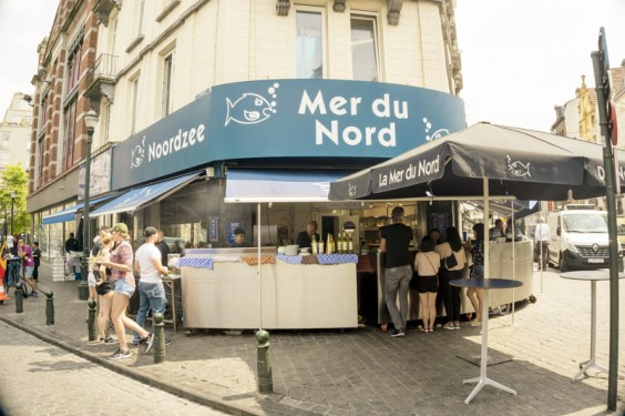One day in Brussels: Lunch at Mer du Nord | #Brussels #Bruxelles #itinerary #Europe #MerduNord #seafood #LocalFood #BelgianFood #Landmark | www.ChloesTravelogue.com