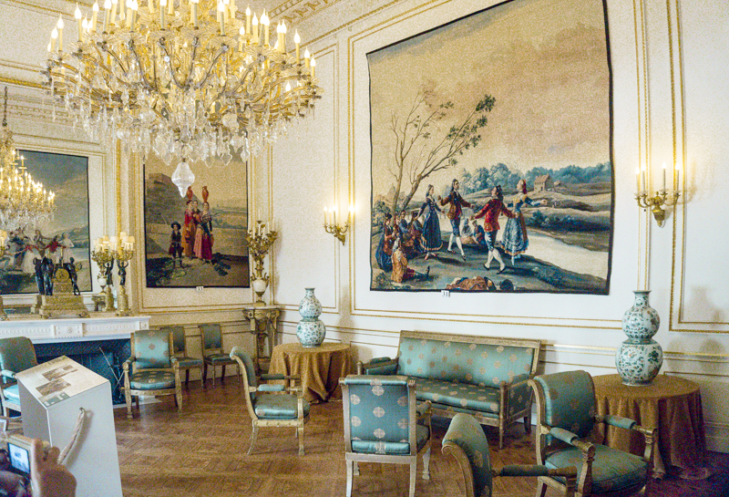 Summer in Brussels: A Photo Guide to the Royal Palace of Brussels | Goya Room