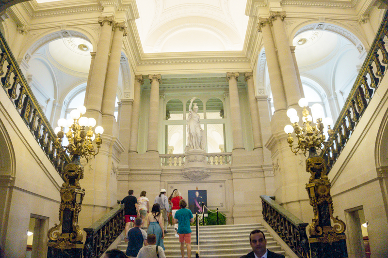 Summer in Brussels: A Photo Guide to the Royal Palace of Brussels | Entry Hall