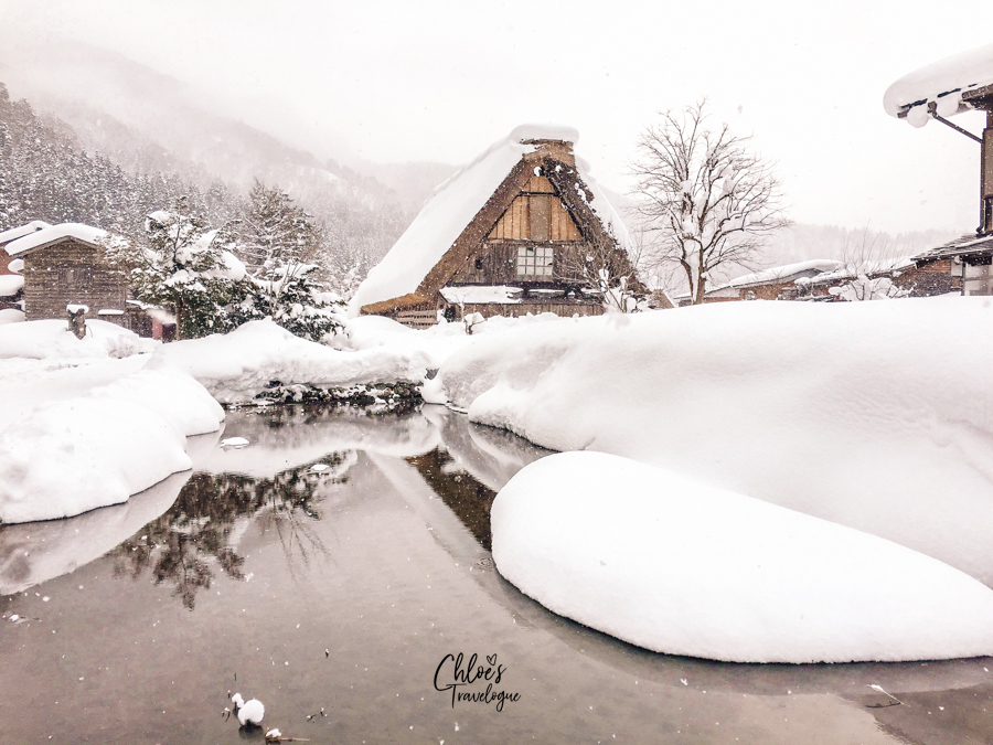 Magical Winter Wonderland in Japanese Alps: Alternative Winter Illumination Events if you cannot reserve a spot for Shirakawago Winter Light Up Festival | #Shirakawago #Winter #Japan #Gassho #UNESCOWorldHeritage | chloestravelogue.com