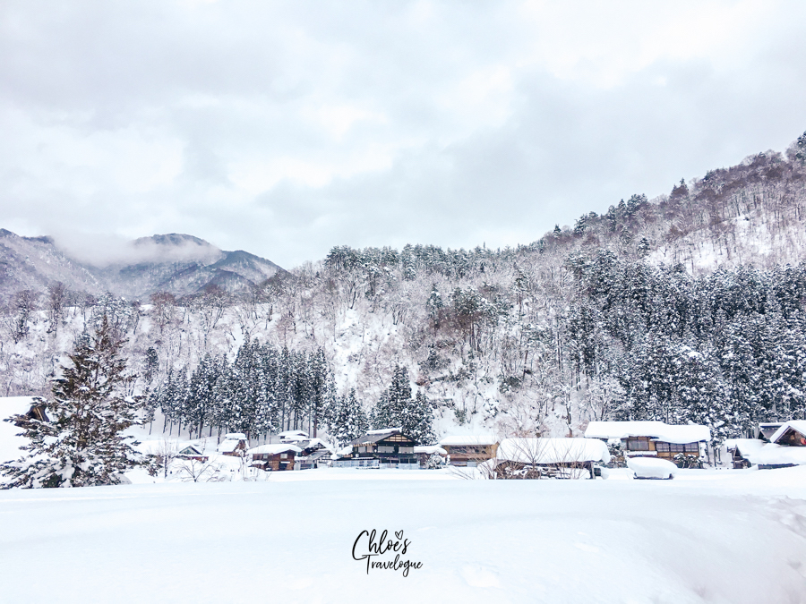 What to do in Shirakawago - Enjoy the fairytale winter wonderland from the Observation Deck| | #Shirakawago #Winter #Japan #Gassho #UNESCOWorldHeritage