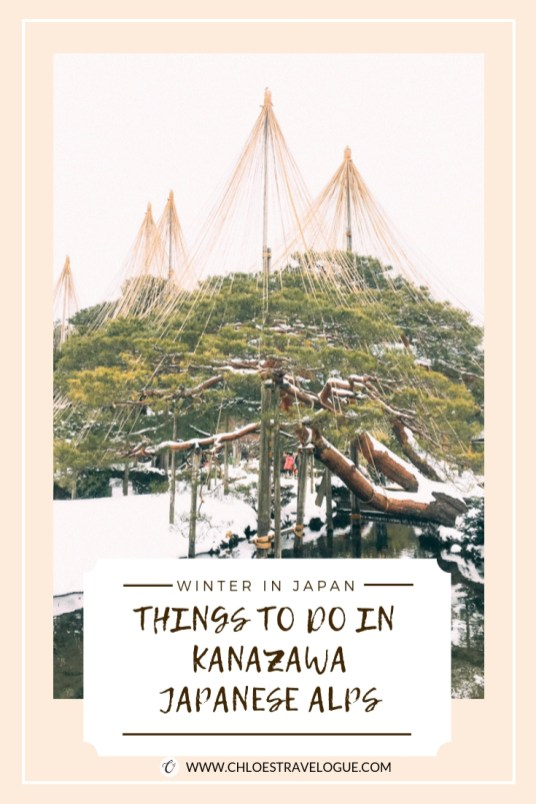 Things to Do in Kanazawa along Japanese Alps