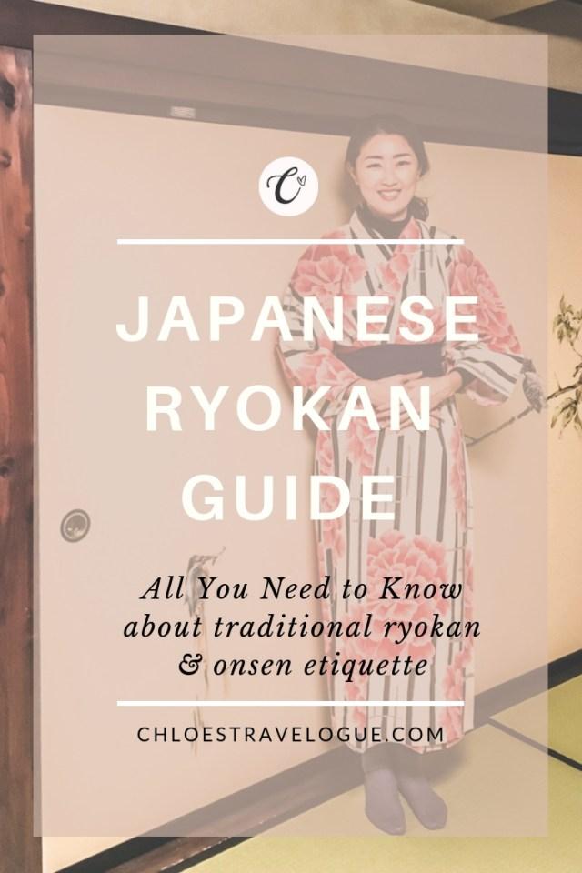 Where to Stay in Japan | Traditional Ryokan Guide | Ryokan tips, Kaiseki Ryori & Japanese Onsen Etiquette | #ryokan #onsen #JapaneseCulture #JapaneseEtiquette | chloestravelogue.com