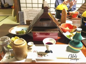 "Takayama Ryokan Review | Kaiseki Ryori is a course meal made with local and seasonal specialities served at traditional inn, ""Ryokan."" It's Japanese cuisine art that all travelers must experience at least once in a life time. 