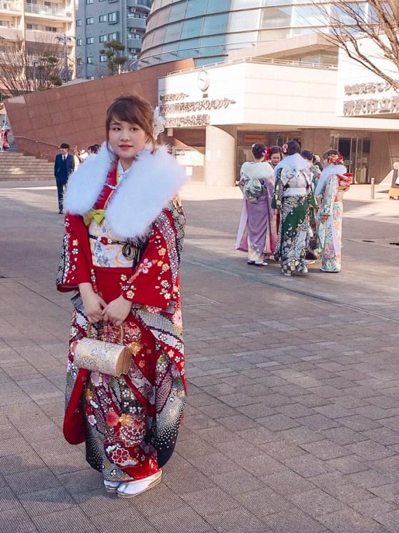 Kimono Rental | Types of Kimono: Furisode vs. Japanese Hakama | #kimono #Asakusa #Tokyo #ThingstoDoinAsakusa #kimonoRental #furisode #hakama #comingofage #seijinshiki