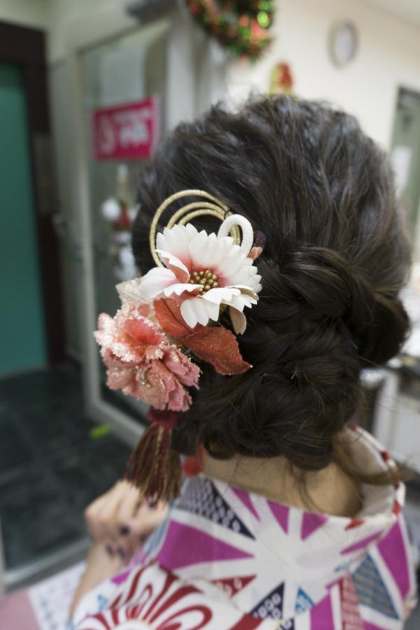 Kimono Rental | Kimono hair accessories & hairstyle | #kimono #Asakusa #Tokyo #ThingstoDoinAsakusa #kimonoRental #kimonohair #hairstyle #Kanzashi