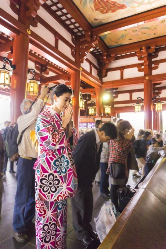 Things to Do in Asakusa | Pray for health & Make a wish at Sensoji Temple | #Asakusa #Tokyo #ThingstoDoinAsakusa #KaminarimonGate #Nakamise #Sensoji