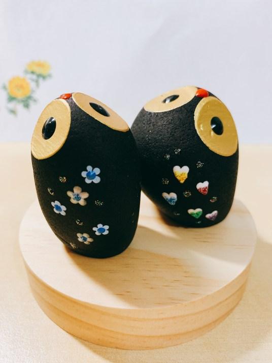 Best Souvenirs from Penghu Island, Taiwan | Decorated Stone Birds #Penghu #Taiwan #澎湖